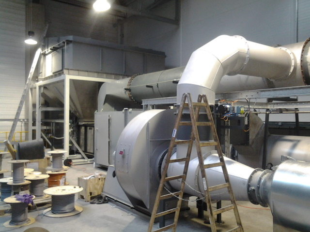 Теплоизоляция промышленная трубопроводов и оборудования заводов и фабрик и предприятий