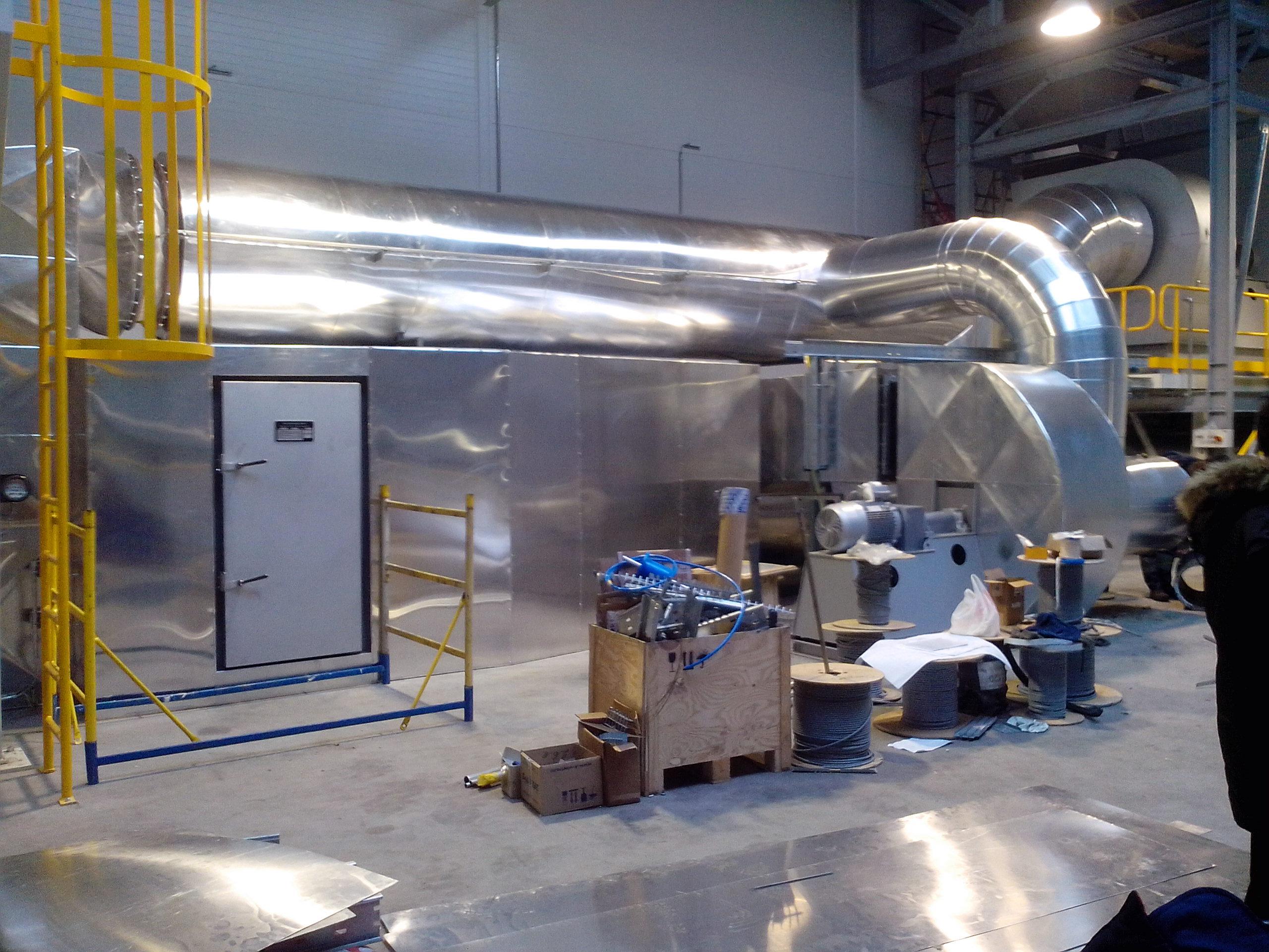 Теплоизоляция промышленная трубопроводов и обрудования заводов и фабрик и предприятий