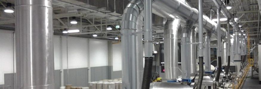 Изоляция воздуховодов и вентиляторов
